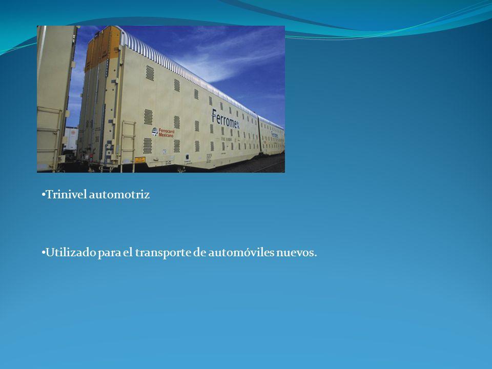 Trinivel automotriz Utilizado para el transporte de automóviles nuevos.