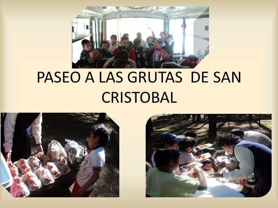 PASEO A LAS GRUTAS DE SAN CRISTOBAL