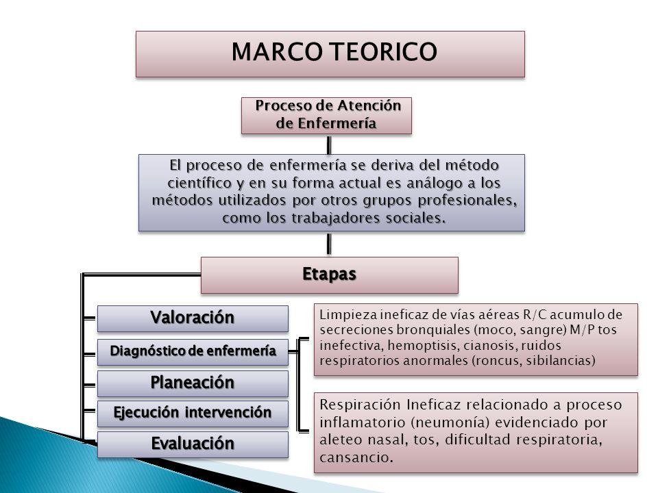 MARCO TEORICO Atención Integrada a las Enfermedades Prevalentes de la Infancia (AIEPI) La implementación de la AIEPI contempla la participación tanto