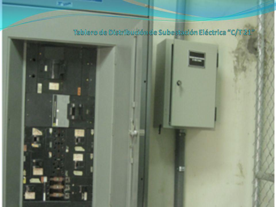Sulfatación en dispositivos de fuerza y corrosión en partes metálicas de subestación eléctrica.