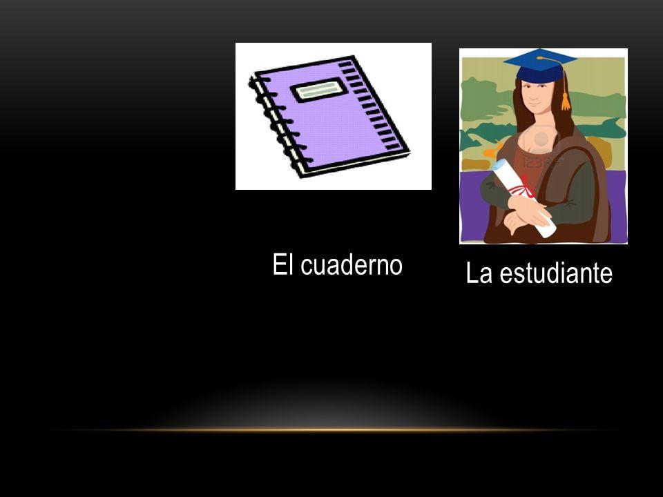 El cuaderno La estudiante