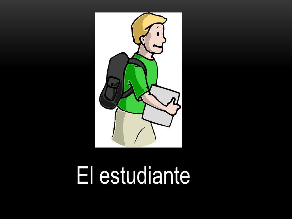 La estudiante