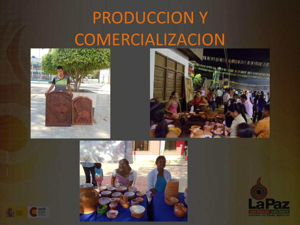 PRODUCCION Y COMERCIALIZACION