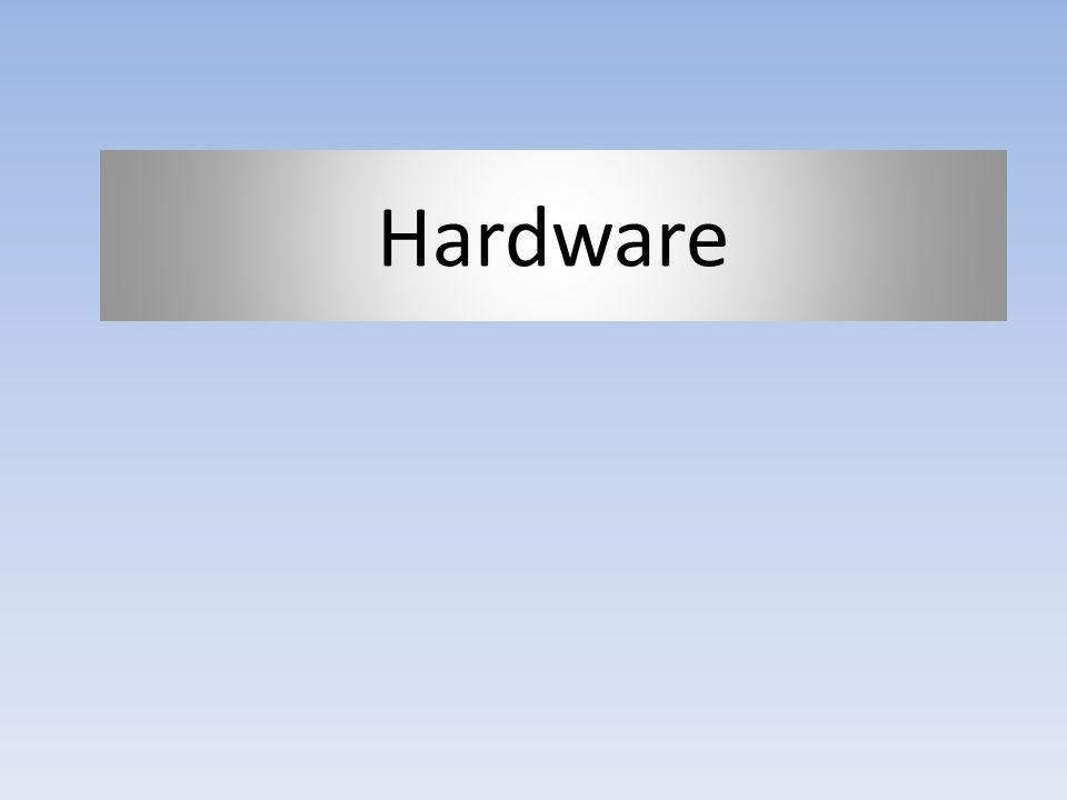 Dispositivos de entrada/salida Características: También llamados periféricos.