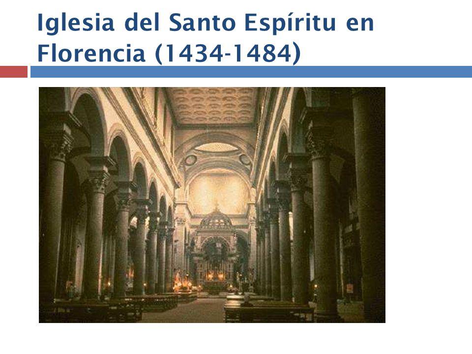 Iglesia del Santo Espíritu en Florencia (1434-1484 )