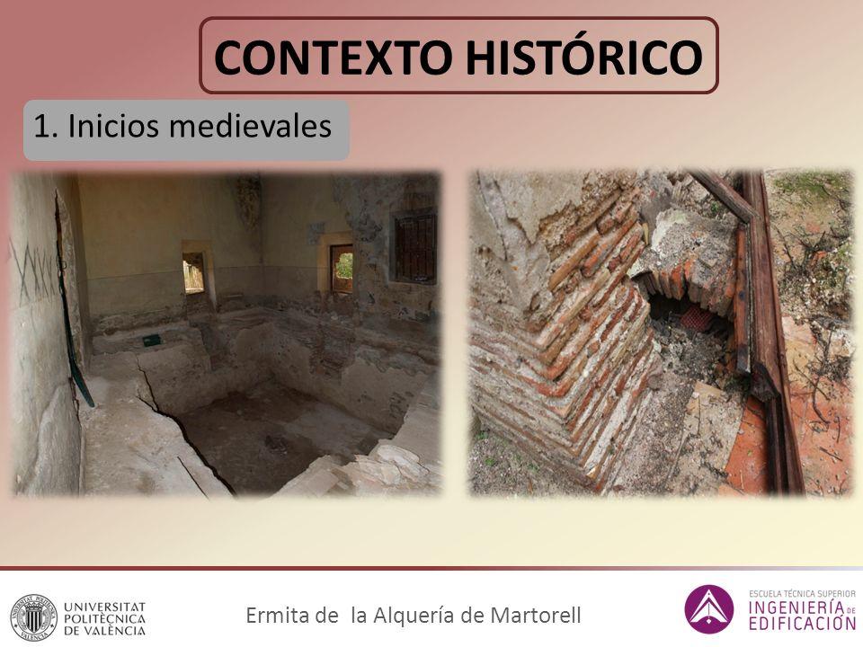 CONTEXTO HISTÓRICO 1. Inicios medievales Ermita de la Alquería de Martorell