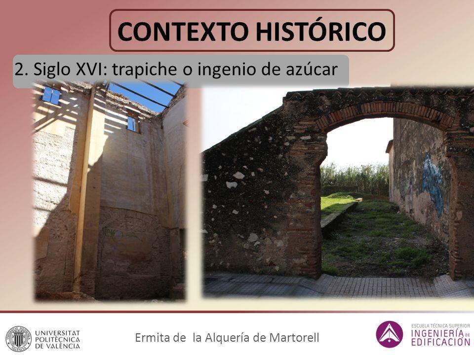 CARACTERIZACIÓN DE MATERIALES Ermita de la Alquería de Martorell