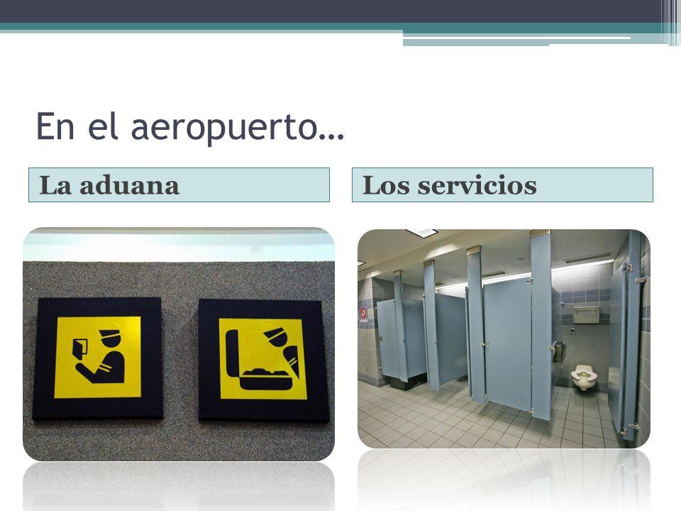 Los vuelos… Las salidasLas llegadas