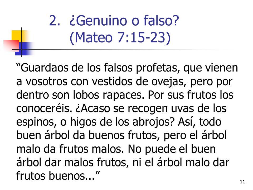 11 Guardaos de los falsos profetas, que vienen a vosotros con vestidos de ovejas, pero por dentro son lobos rapaces.