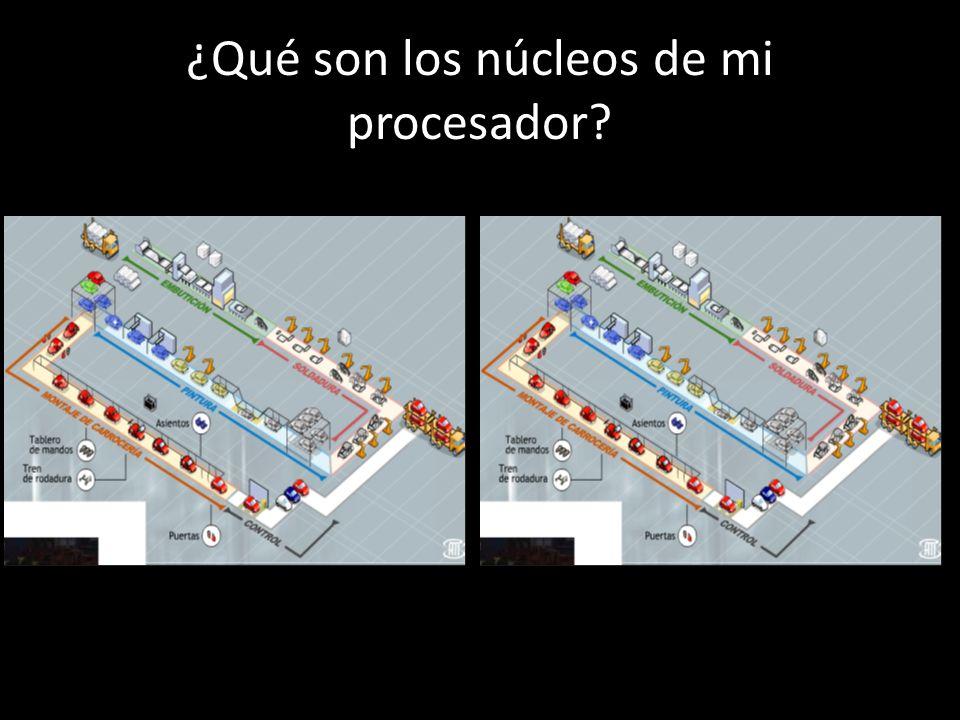 ¿Qué son los nanómetros (nm) de mi procesador.