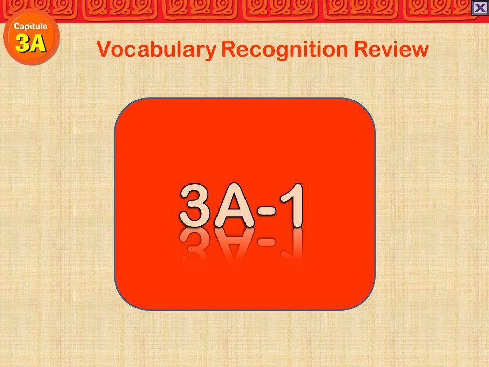 Vocabulary Recognition Review Carolina:Al llegar a la sala de clase mi amiga Tania no está tranquila.