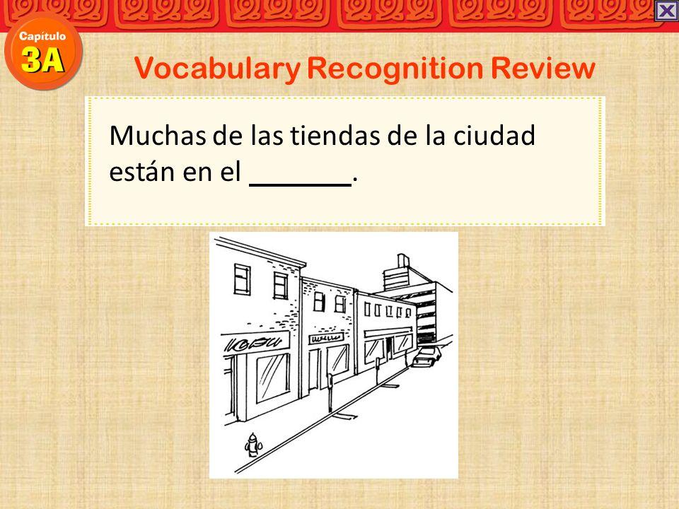 Vocabulary Recognition Review Después de leerlo, Ud. puede devolver ´ el libro en la biblioteca.