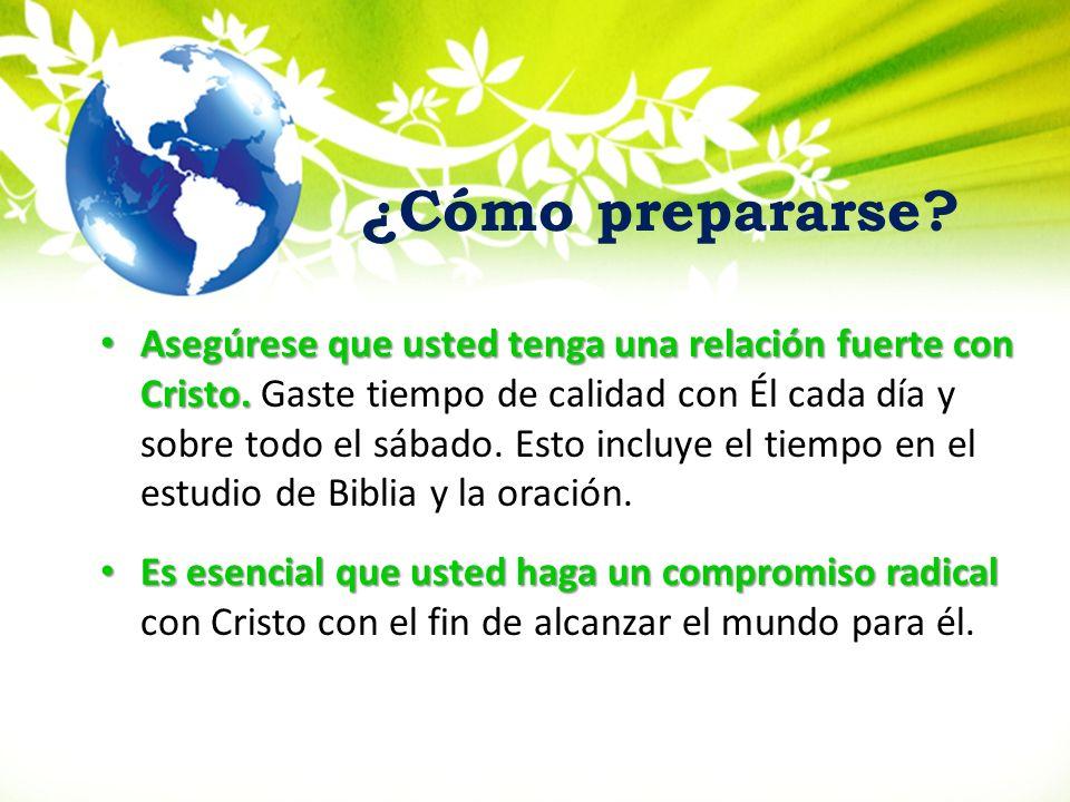 Tenga un estudio de la Biblia corto preparatorio sobre la oración.