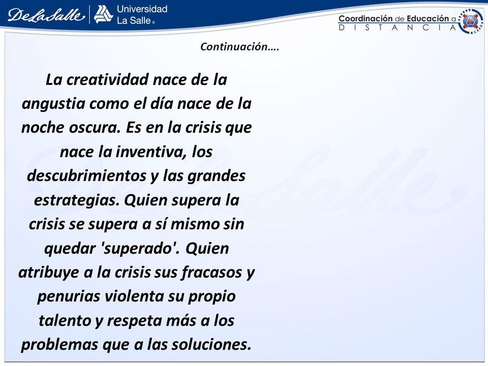 La verdadera crisis es la crisis de la incompetencia.