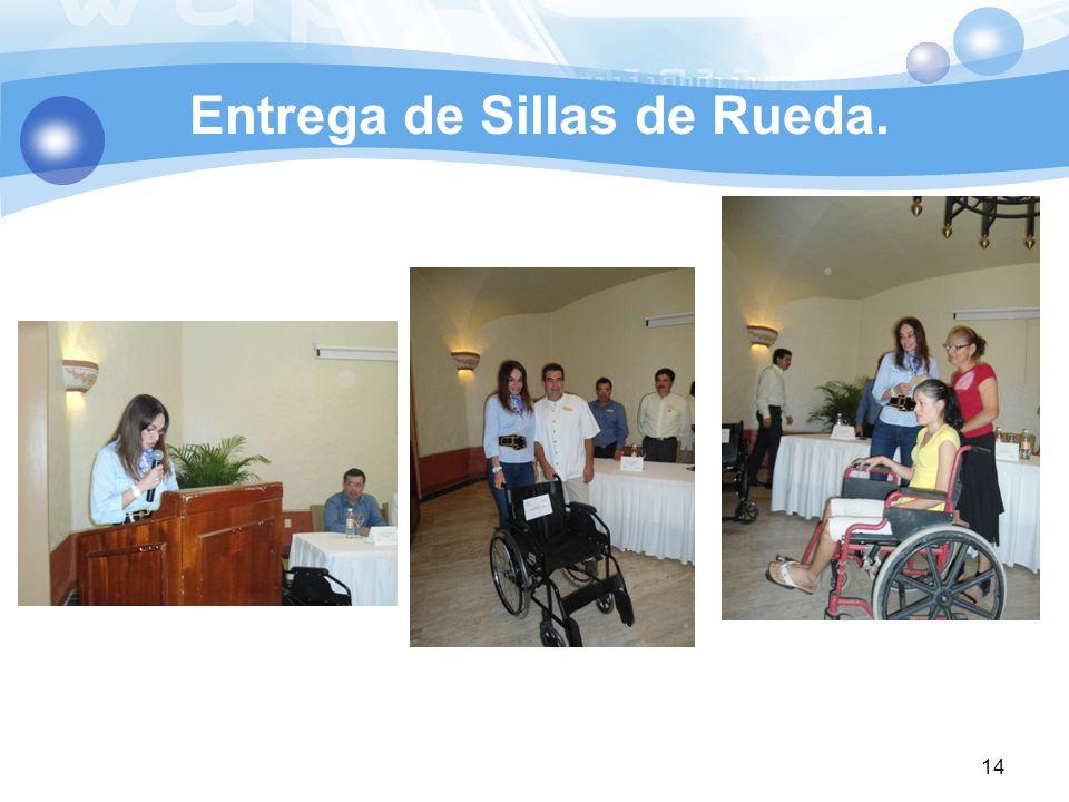 Entrega de Sillas de Rueda. 14
