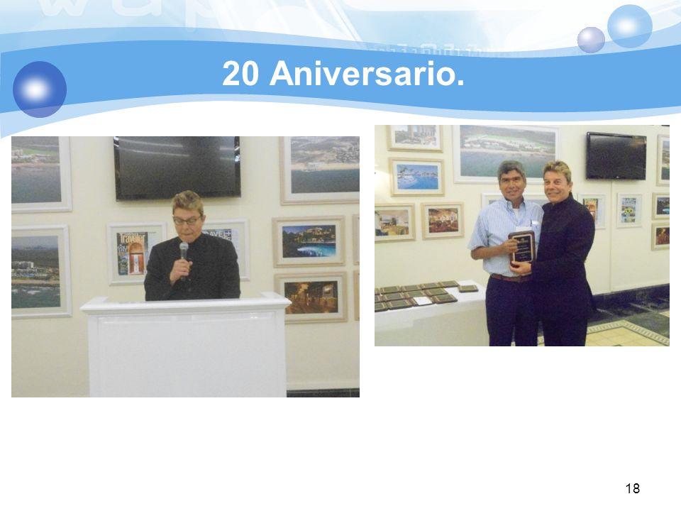 20 Aniversario. 18