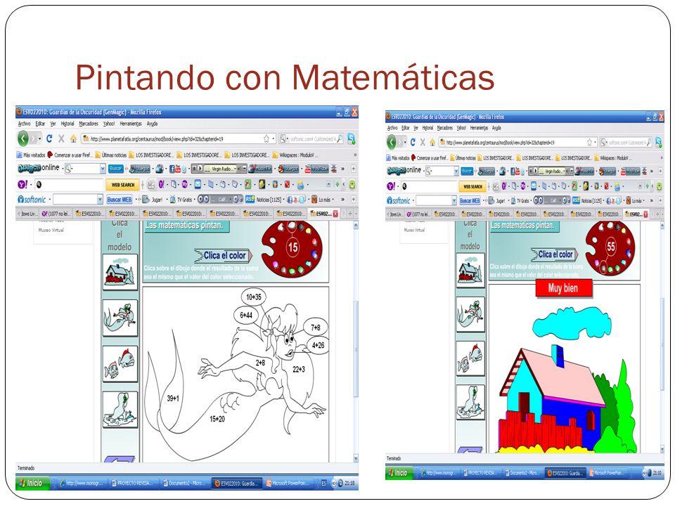Pintando con Matemáticas