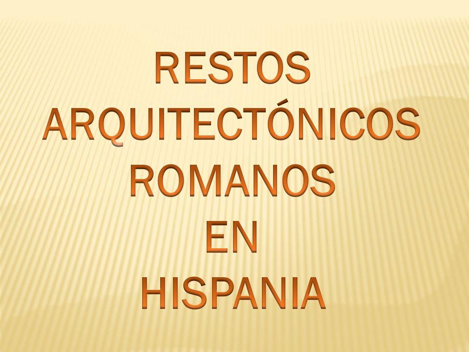 RESTOS DE CALZADA ROMANA EN EL ESCORIAL (MADRID )