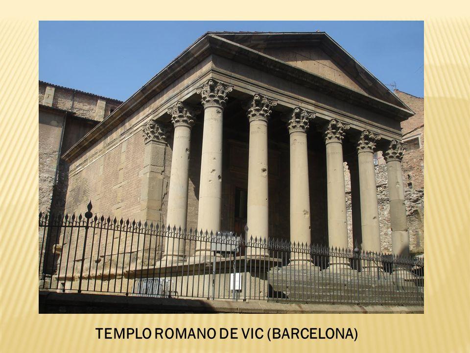 TEMPLO ROMANO DE VIC (BARCELONA)