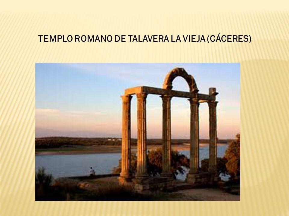 TEMPLO ROMANO DE TALAVERA LA VIEJA (CÁCERES)