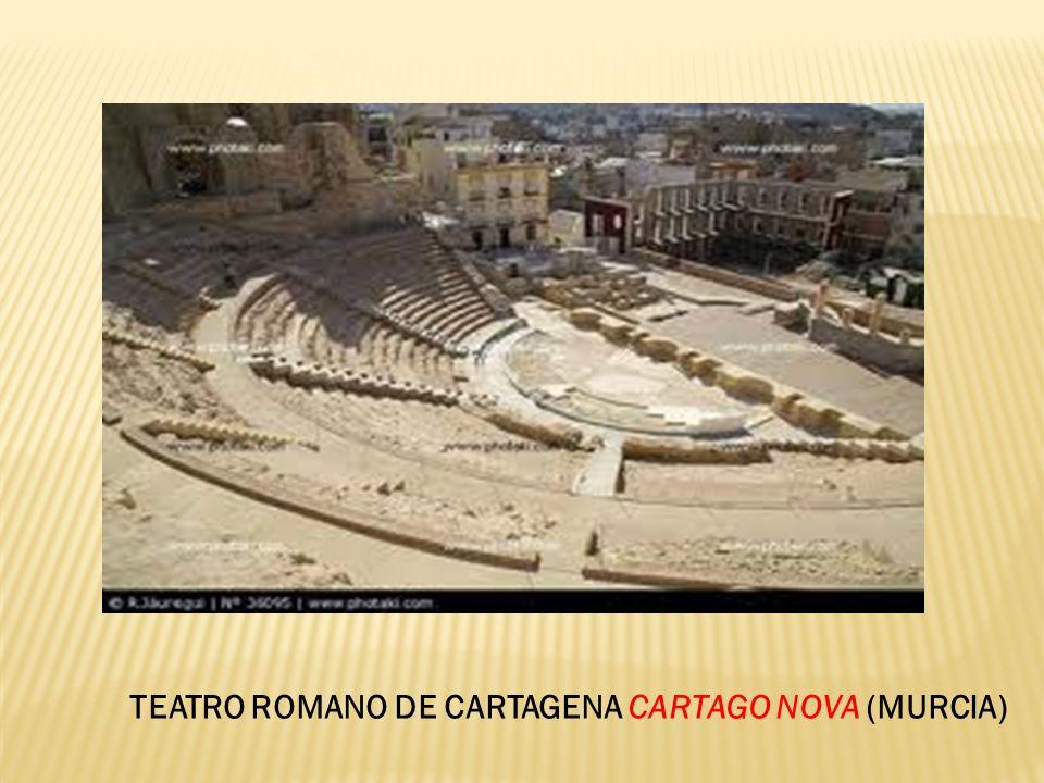 TEATRO ROMANO DE CARTAGENA CARTAGO NOVA (MURCIA)
