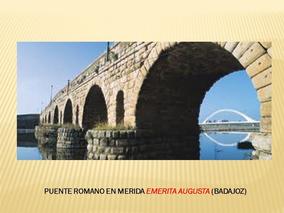 PUENTE ROMANO EN MERIDA EMERITA AUGUSTA (BADAJOZ)