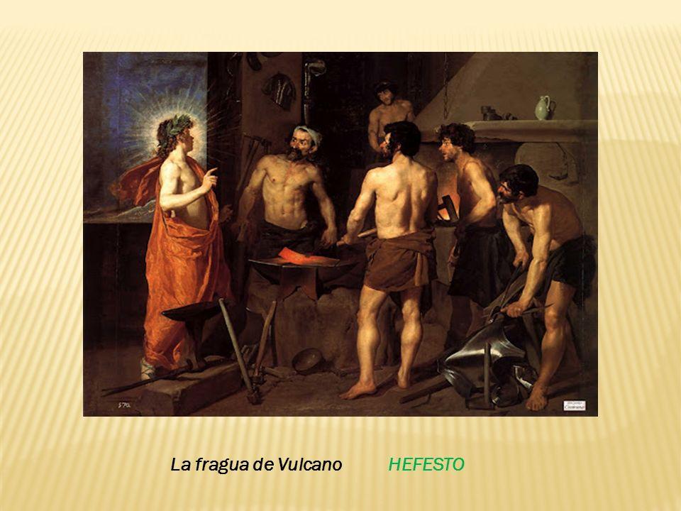 La fragua de Vulcano HEFESTO