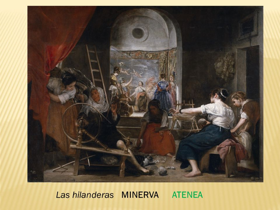Las hilanderas MINERVA ATENEA