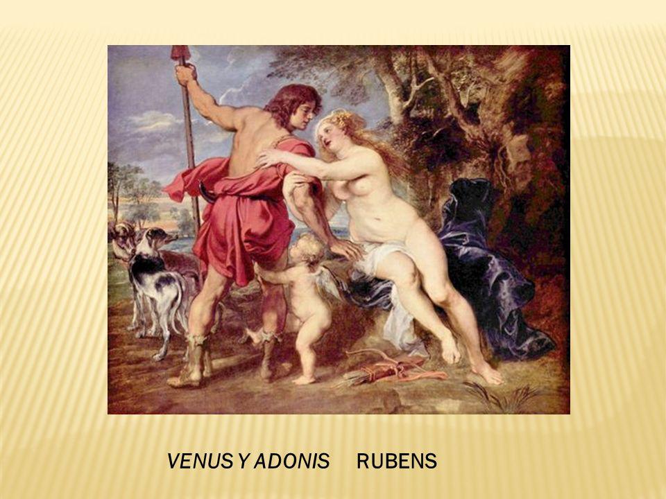 VENUS Y ADONIS RUBENS