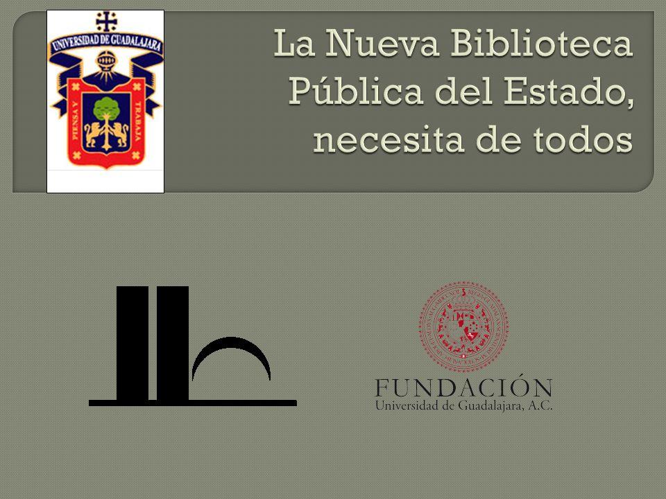 Contribuir con la captación de 400,000 unidades de información para la Nueva Biblioteca Pública del Estado, Juan José Arreola, para apoyar la integración de la colección contemporánea.