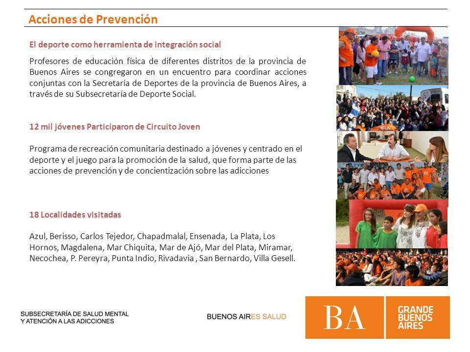 El deporte como herramienta de integración social Profesores de educación física de diferentes distritos de la provincia de Buenos Aires se congregaro