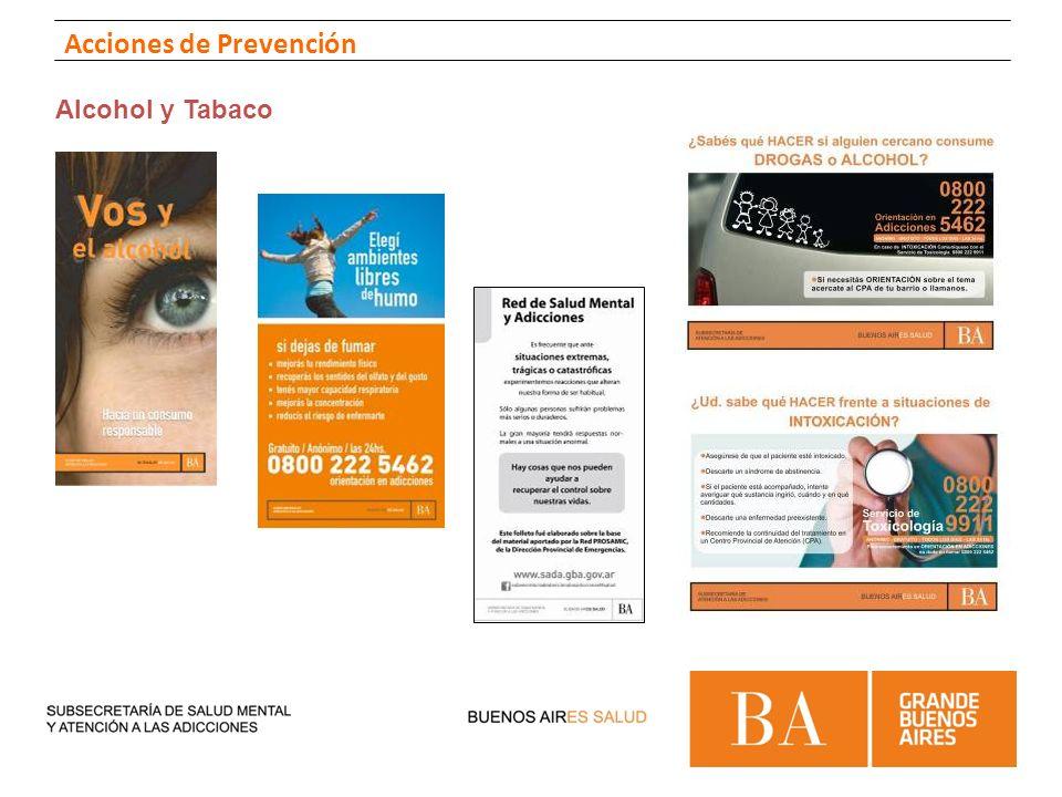 Alcohol y Tabaco Acciones de Prevención