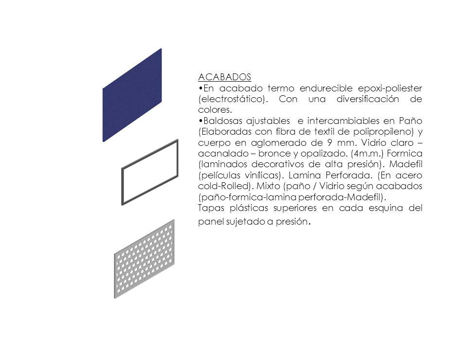 PARALES Los párales son un instrumento de intersección entre paneles.