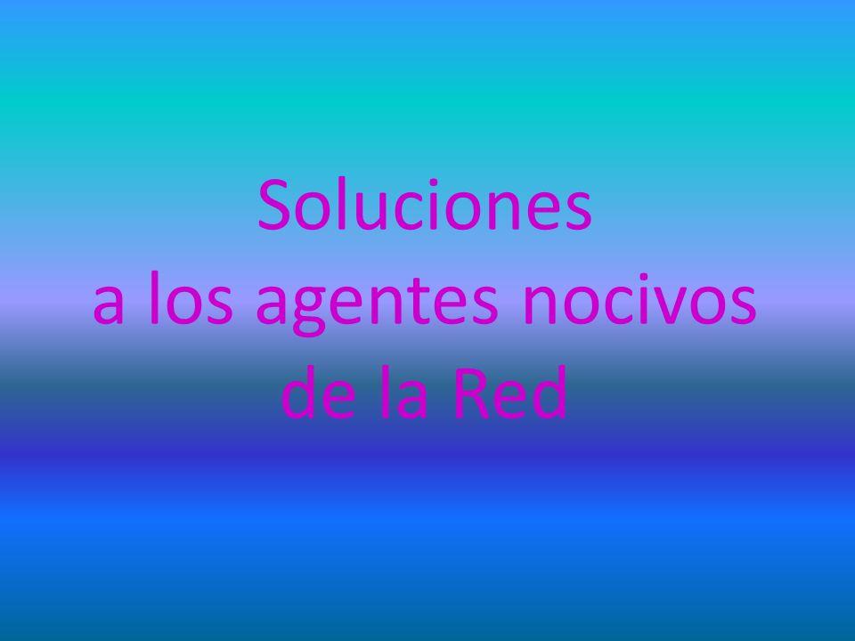 Soluciones a los agentes nocivos de la Red