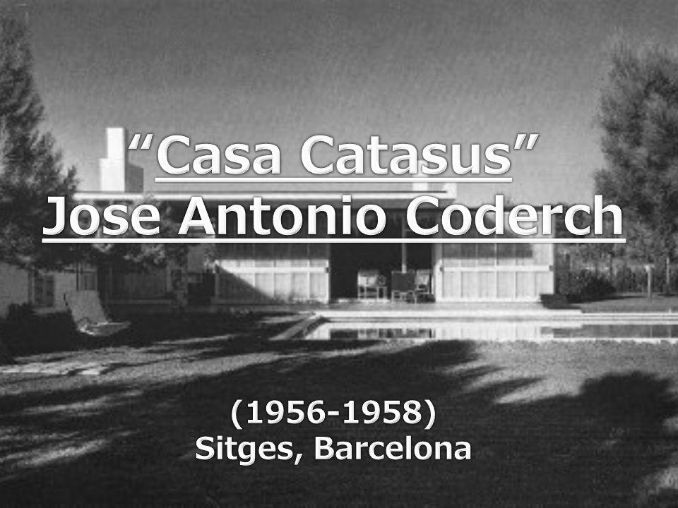 José Antonio Coderch y de Sentmenat (Barcelona, 26 de noviembre de 1913 - Espolla, 6 de noviembre de 1984) 1 fue un arquitecto catalán.