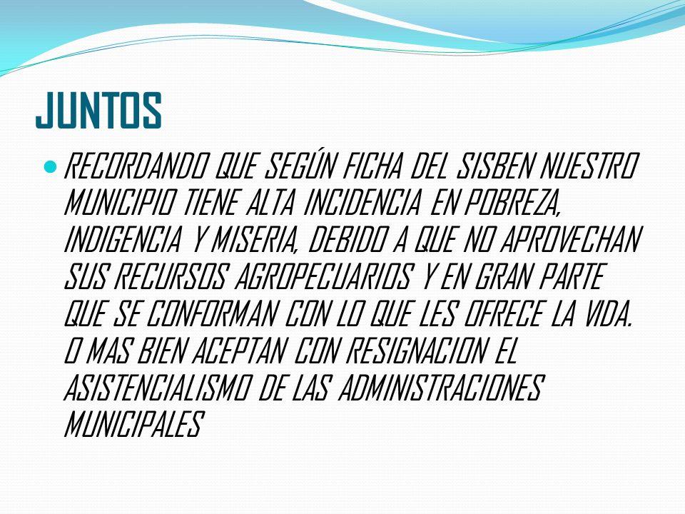ACCION SOCIAL ACCION SOCIAL HA TRAIDO HA NUESTRO MUNCIPIO PROGRAMAS QUE BENEFICIAN A LAS FAMILIAS MAS NESECITADAS DE LA VICTORIA CON FAMILIAS EN ACCION Y AHORA CON LA RED JUNTOS DE ESTA MANERA BUSCA MEJORAR LA CALIDAD DE VIDA CON ELLO LA ERRADICACION DE LA POBREZA EXTREMA