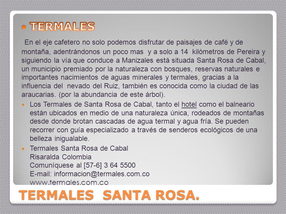 ssss SANTA ROSA DE CABAL