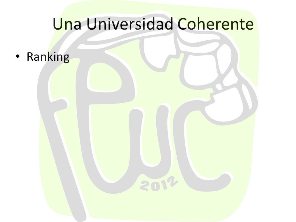 Una Universidad Coherente Semana Universitaria