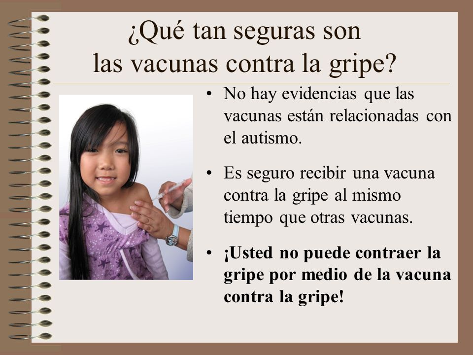 ¿Qué tan seguras son las vacunas contra la gripe.