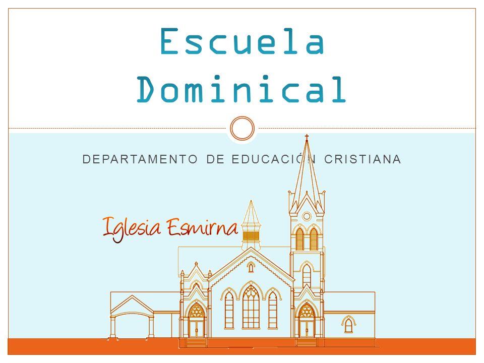 DEPARTAMENTO DE EDUCACIÓN CRISTIANA