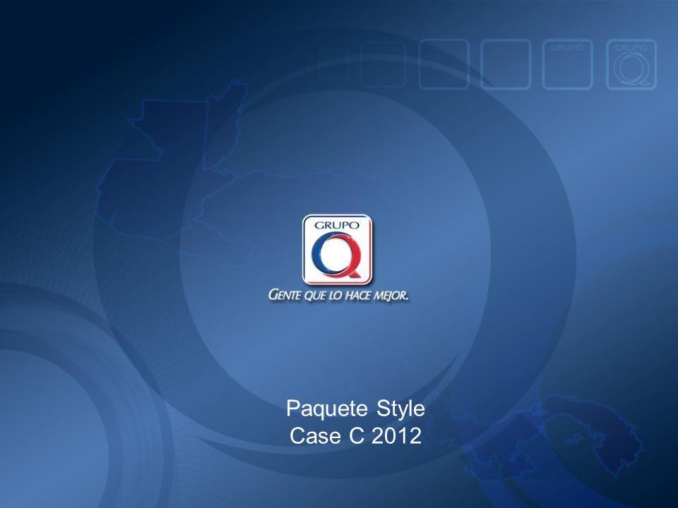 Paquete Style Case C 2012