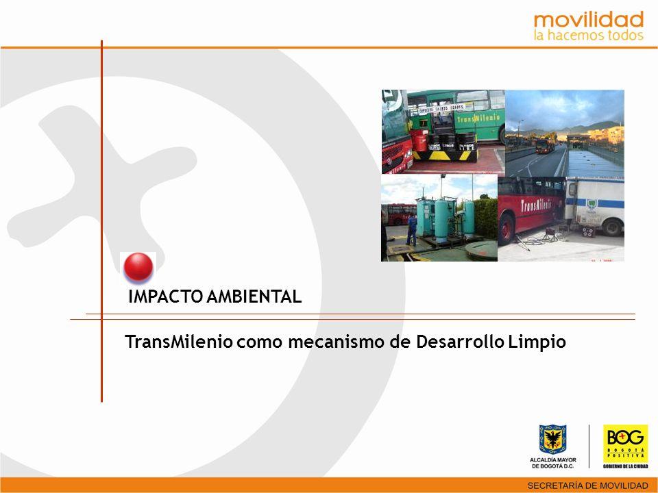 IMPACTO AMBIENTAL TransMilenio como mecanismo de Desarrollo Limpio