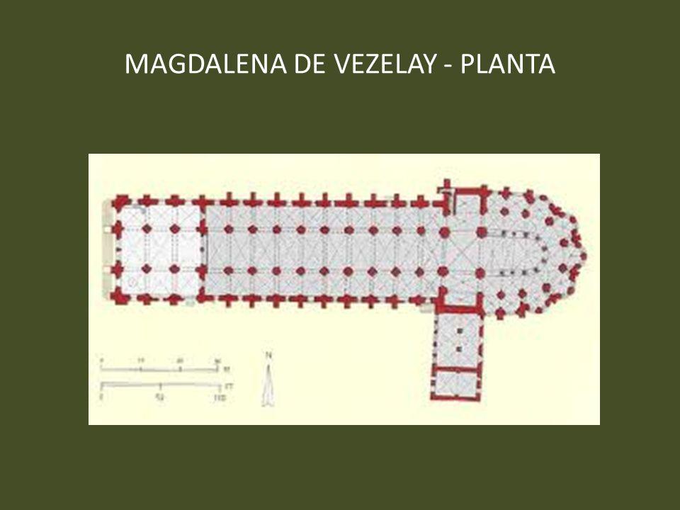 MAGDALENA DE VEZELAY - PLANTA