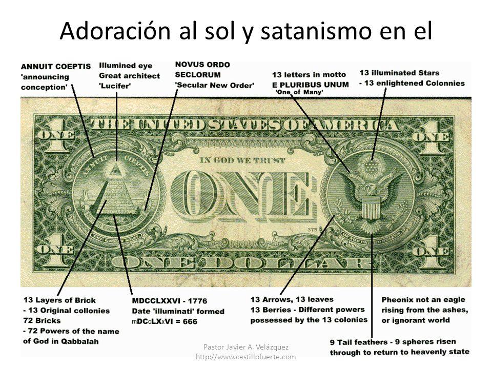 Adoración al sol y satanismo en el Pastor Javier A. Velázquez http://www.castillofuerte.com