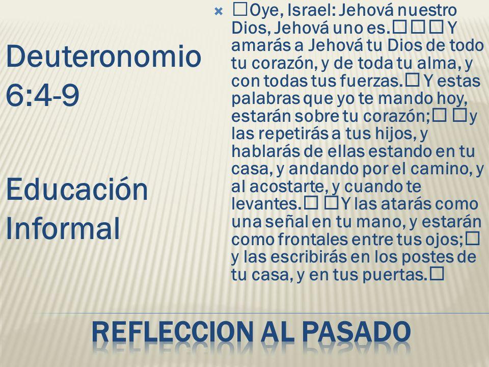Oye, Israel: Jehová nuestro Dios, Jehová uno es. Y amarás a Jehová tu Dios de todo tu corazón, y de toda tu alma, y con todas tus fuerzas. Y estas pal
