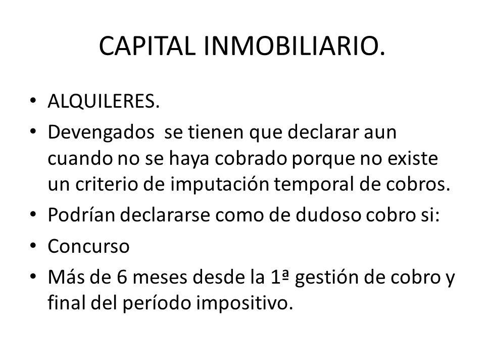 PERMUTAS Y OPERACIONES A PLAZOS Forma de tributación: a) Se declaran cuando se produce la alteración patrimonial.