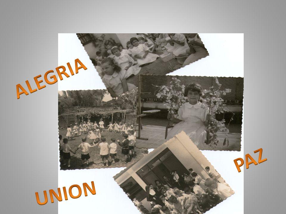 Presencia en la parroquia Primeras comuniones Inserción local Alegría Testimonio de fe 1960…