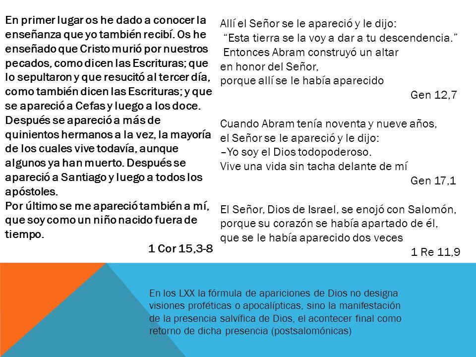 HABLAR HOY DE LA RESURRECCIÓN 1.