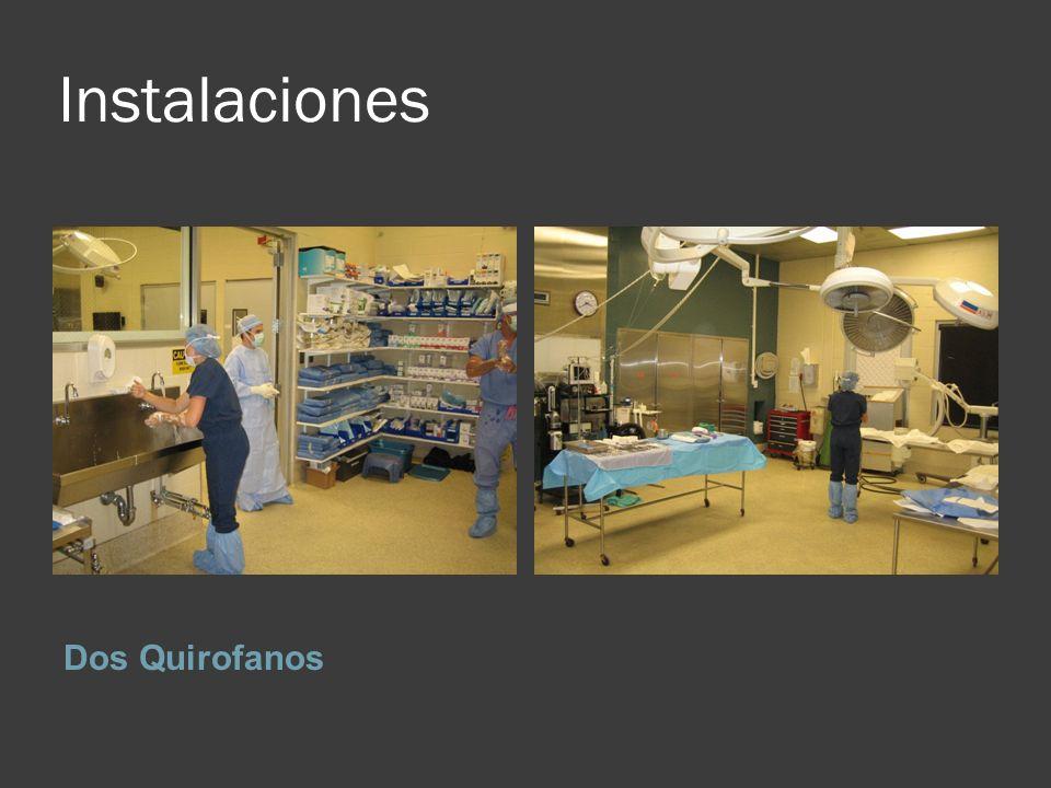Instalaciones Dos Quirofanos