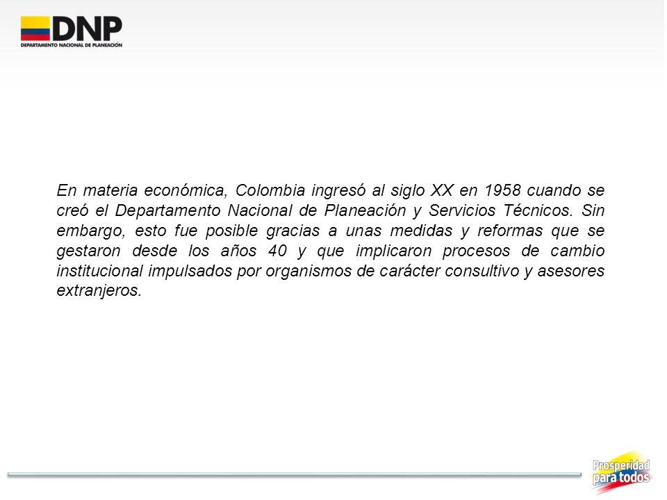 1944 López Pumarejo Obliga al Congreso a fijar planes y programas de todas las obras públicas y autoriza la creación de departamentos administrativos.